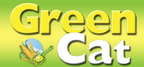 Green cat logo